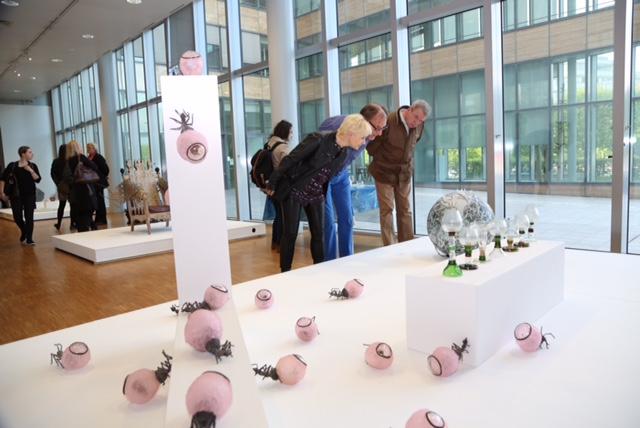 Exposition créateurs verriers Maison de la Région à Strasbourg