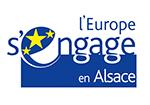 Logo l'Europe s'engage en Alsace