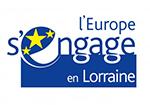 Logo l'Europe s'engage en Lorraine