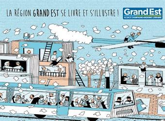 Salon du Livre Paris - Illustration Simon Bailly, Illustrateur diplômé de l'Ecole Supérieure d'Art d'Epinal