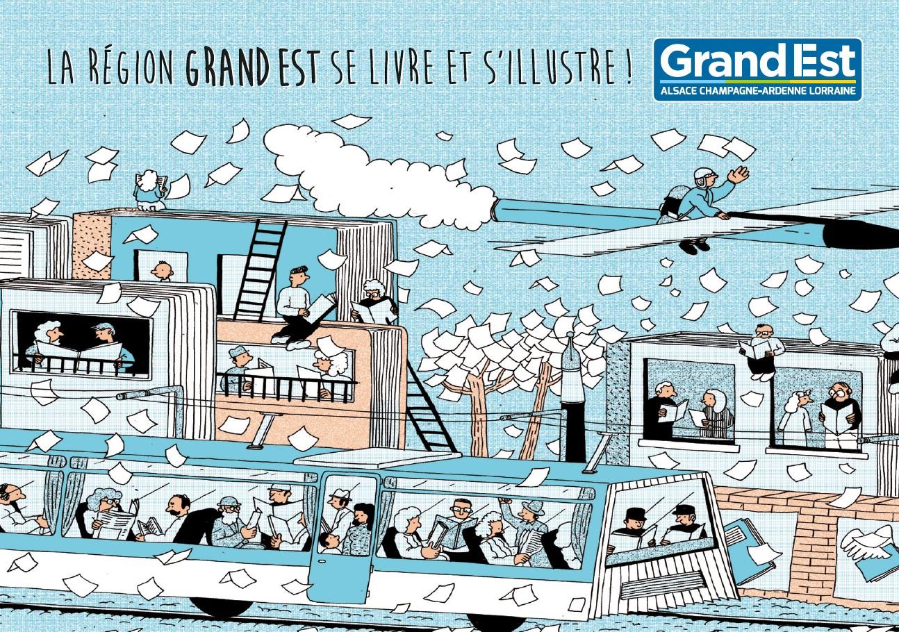 Illustration Simon Bailly, Illustrateur diplômé de l'Ecole Supérieure d'Art d'Epinal