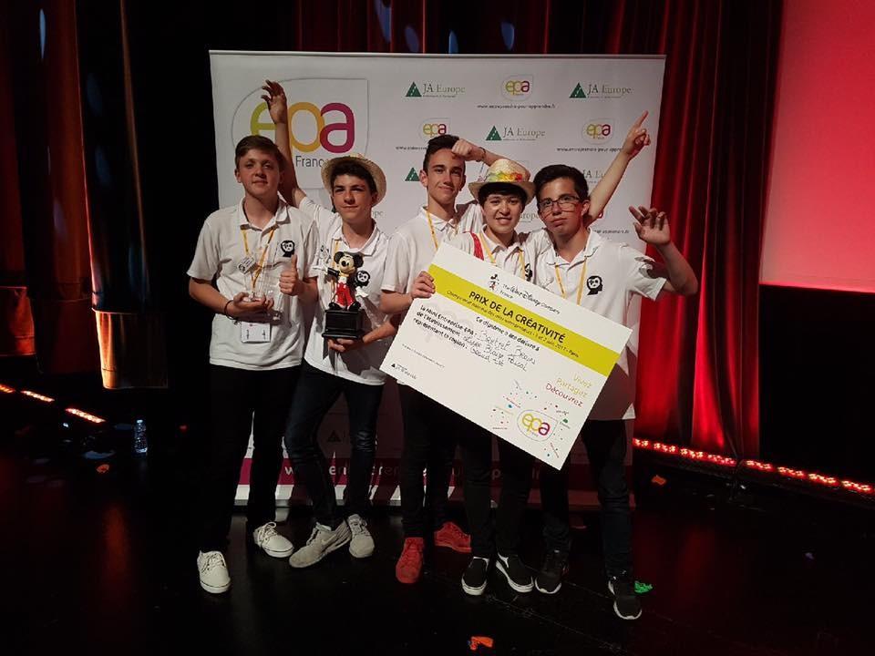 Equipe Bretzel Brains Championnat national mini entreprises