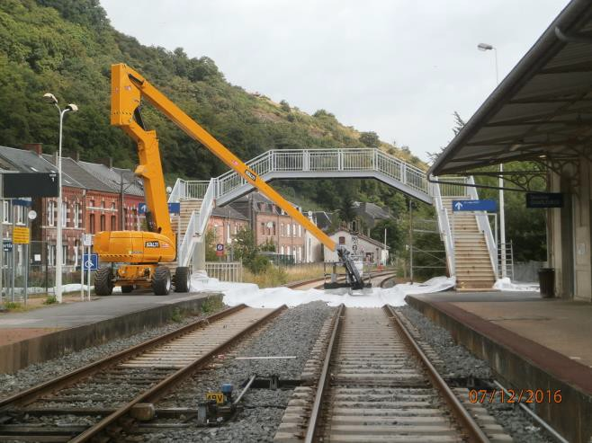 Ligne ferroviaire Charleville / Givet - Travaux