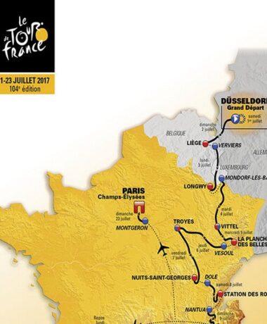 le Tour de France fait étape dans le Grand Est