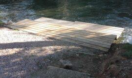 Création d'équipement de randonnée nautique sur le Domaine Public Fluvial régional de l'Ill