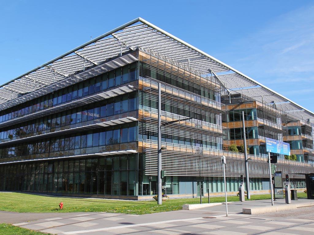 Le siège du conseil régional et les hôtels de région grandest