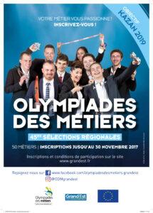 Sélections régionales Olympiades des métiers