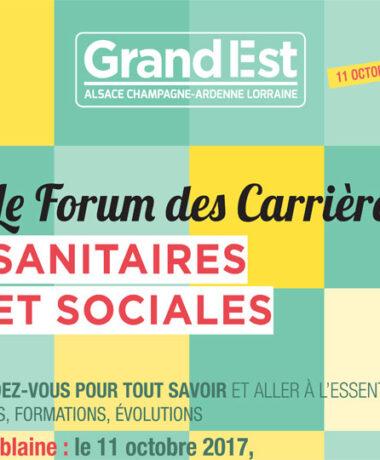 Forum des Carrières Sanitaires et Sociales