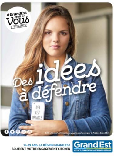Jeunesse #GrandEst croit en vous : des idées à défendre