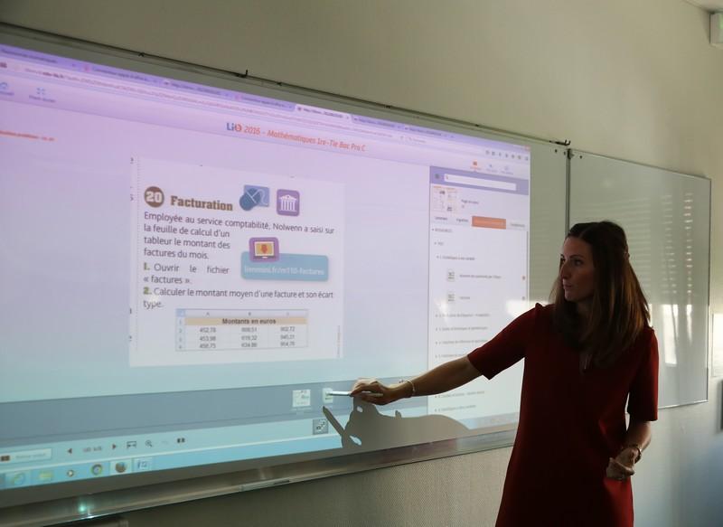Equipement numérique dans les lycées 4.0