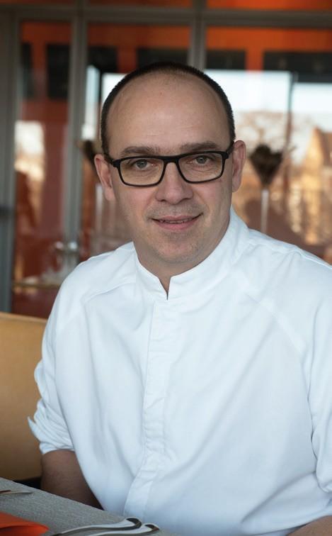 Philippe Marxer, chef du restaurant d'Arte à Strasbourg