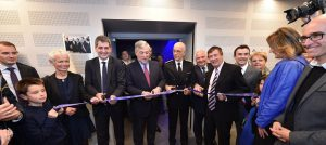 Inauguration du mémorial de Schirmeck en présence Jean Rottner, Président du Conseil régional du Grand Est