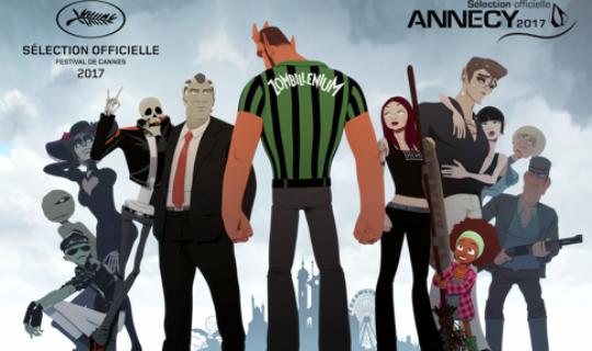 Sortie nationale de « Zombillénium » le 18 octobre, un long-métrage d'animation soutenu par la Région Grand Est