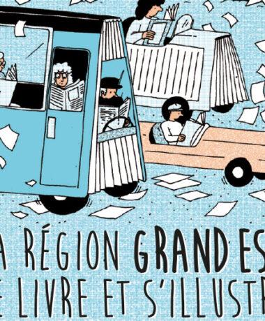 La Région Grand Est se livre et s'illustre à Montreuil