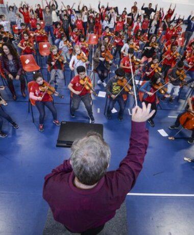 1er concert de l'orchestre Démos Mulhouse