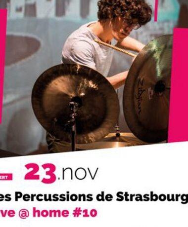 Percussions de Strasbourg en concert