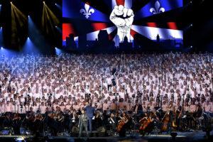 Concert des 2000 choristes © Bodez / région Grand Est