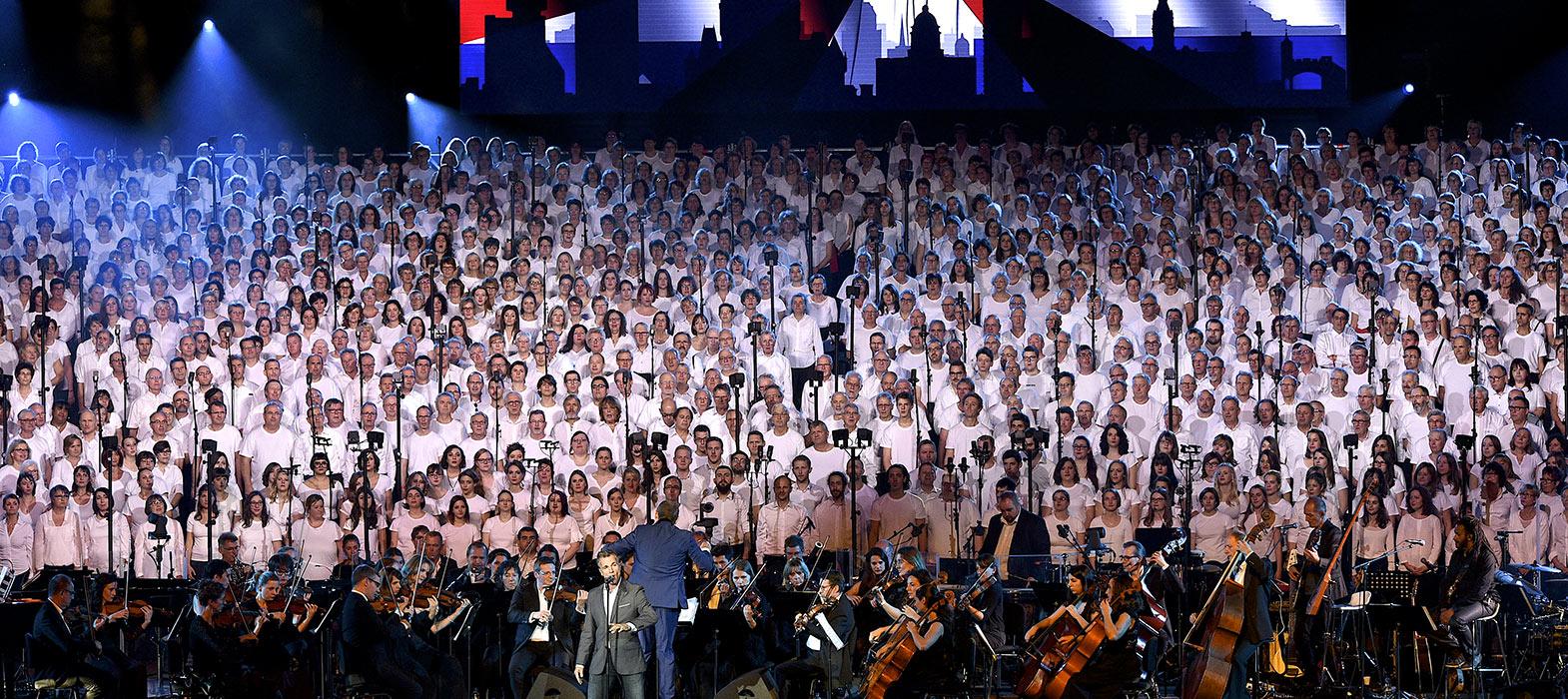 Concert 2000 choristes © Bodez / Région Grand Est