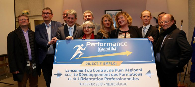 Lancement du Contrat de Plan Régional de Développement des Formations et de l'Orientation Professionnelles