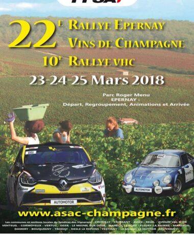 22e Rallye national Épernay – Vins de Champagne
