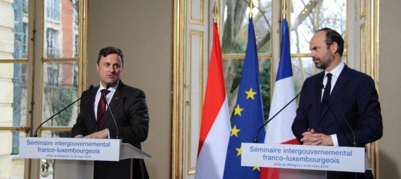 Jean Rottner participe au séminaire intergouvernemental franco-luxembourgeois