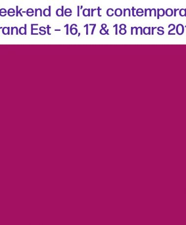 Week-end de l'art contemporain Grand Est