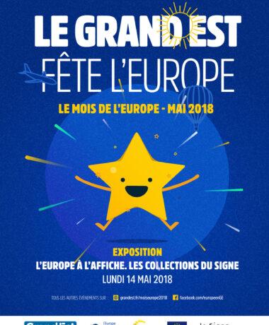 Exposition «L'Europe à l'affiche. Les collections du Signe»