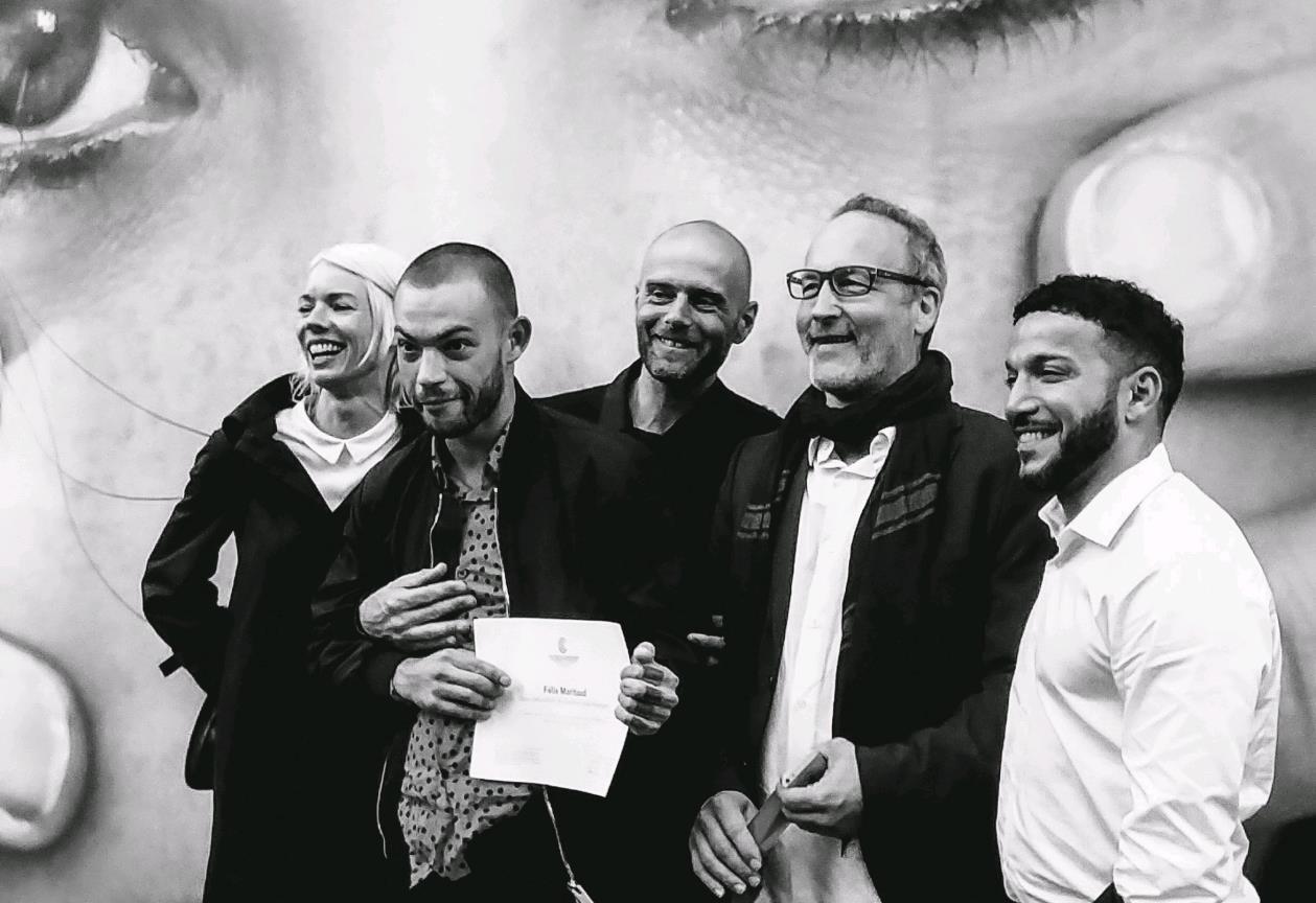 Félix Maritaud, Prix Fondation Louis Roederer de la Révélation