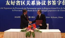 Le Grand Est renforce son partenariat avec la Chine