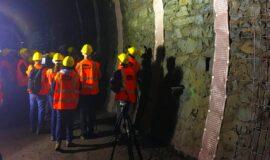 Visite du chantier de modernisation entre Saales et Saint-Dié