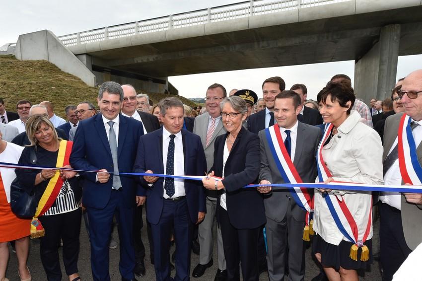 Inauguration autoroute A 304 Ardennes
