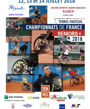 Championnats de France Tennis Fauteuil Séniors +