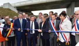Inauguration de l'Autoroute A 304 Branche Ouest du Y ardennais