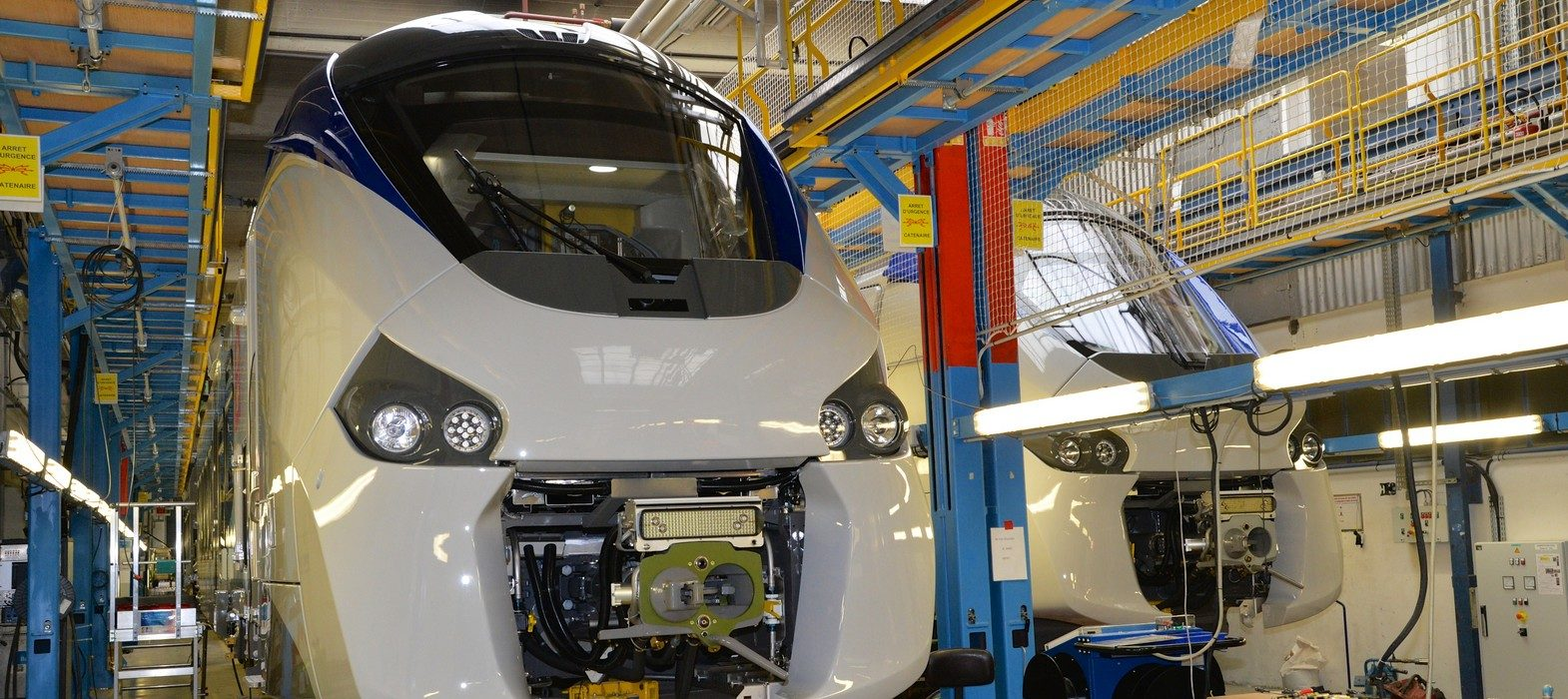 Rame Regiolis atelier Alstom