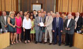 Jean Rottner intervient devant le Conseil Départemental des Vosges