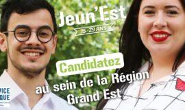 Service civique : candidatez au sein de la Région Grand Est
