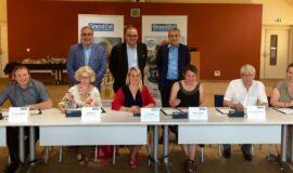 5ème du Tour Régional de la Jeunesse à Altkirch et Mulhouse et signature de conventions