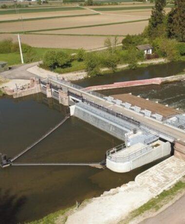 Portes ouvertes du nouveau barrage de la Steinsau