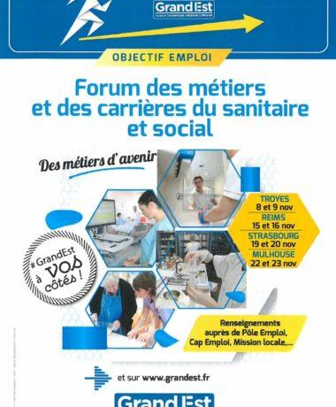 Forum des métiers du paramédical, du social et du médical