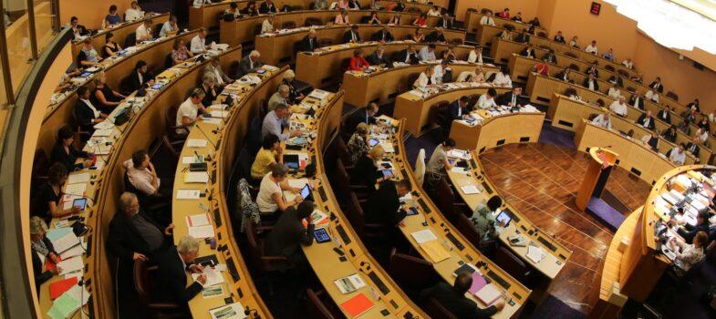 Suivez la séance plénière du Conseil Régional en direct le 15 novembre 2018