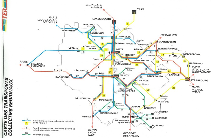 Carte Ferroviaire Alsace.La Grande Aventure Du Train Grandest