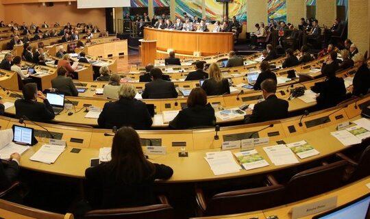 Séance plénière du Conseil Régional