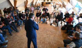 Jean Rottner et les élus régionaux à la rencontre des habitants du Bas-Rhin