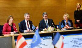 Signature de la convention de coopération avec le Land Haute-Autriche