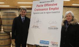 Signature du Pacte Offensive Croissance Emploi pour le Grand Reims