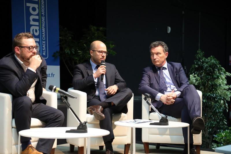 De gauche à droite : Olivier Portier (OPConseil), Jean-Baptiste Baud (Fédération Nationale Familles rurales), Franck Leroy (Conseiller régional)
