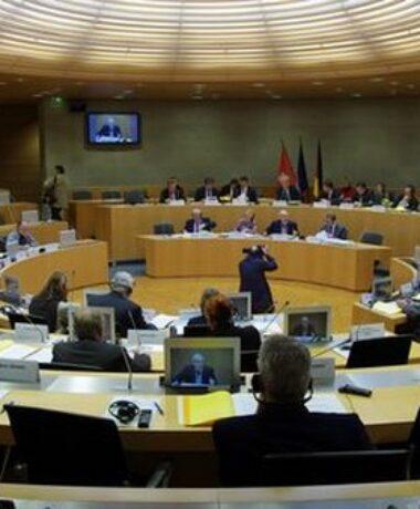 1ère séance plénière du Conseil rhénan