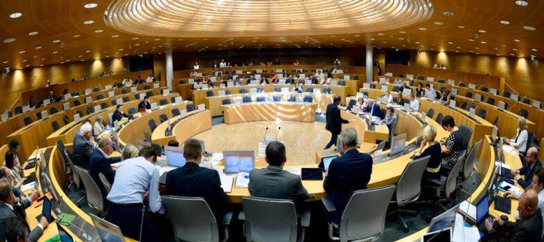 Suivez la commission permanente du Conseil régional en direct le 6 décembre 2019
