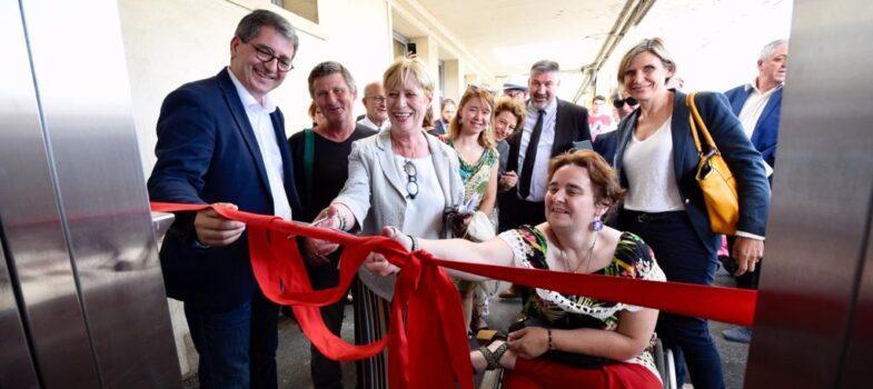 Inauguration des travaux d'accessibilité de la gare de Chaumont