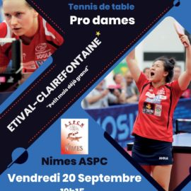 Tennis de table : ASRTT / Nîmes Pro Dames